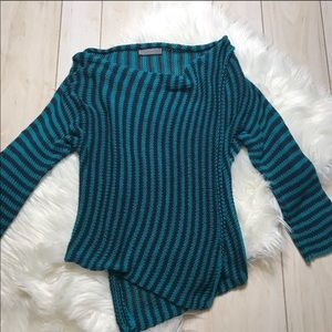 Anthropologie Wooden Ships Wrap Sweater